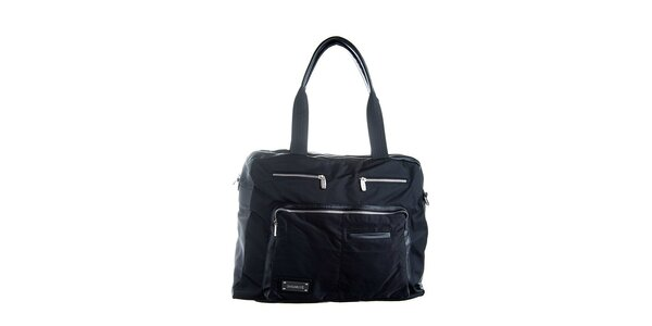 Černá luxusní taška Lancaster