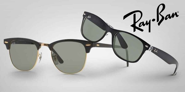 Stylové sluneční brýle značky Ray-Ban