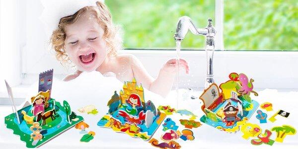 Sada pěnových hraček do vany