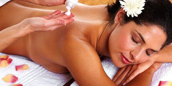 5x kombinovaná masáž zad a šije