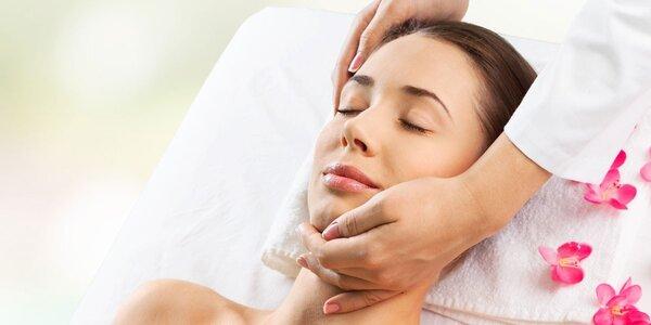 Zimní ošetření pleti s lymfatickou masáží
