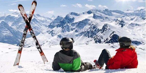 Jednodenní lyžování ve Francii vč. skipasu