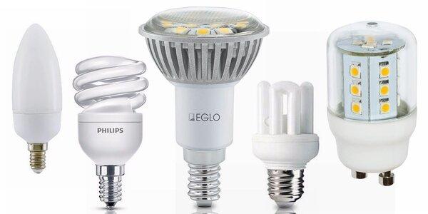 Úsporné LED žárovky do každé rodiny