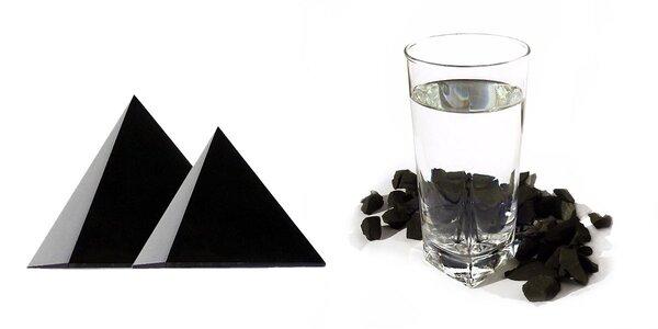 Šungit - léčivé kameny z hlubin Země