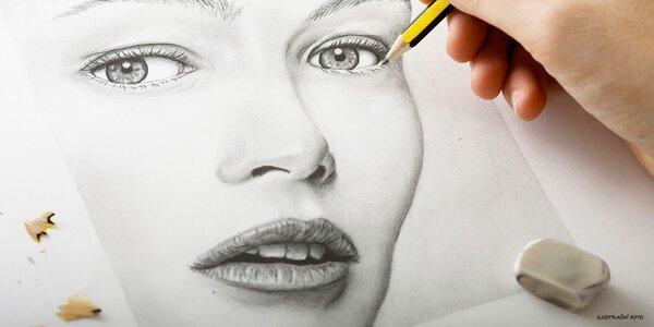 Umělecký portrét tužkou