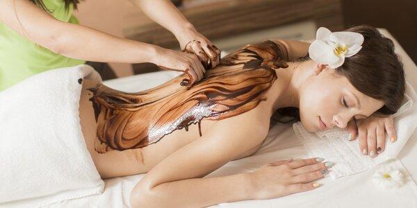 Čokoládová a holistická masáž