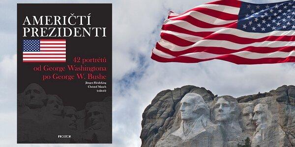 Výpravná kniha Američtí prezidenti