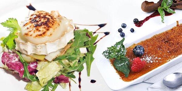 Francouzské degustační menu v La Provance