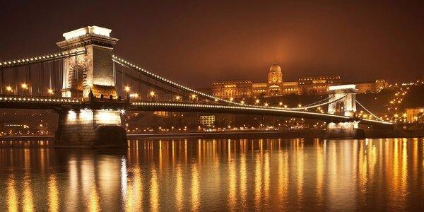 Za kouzlem adventní Budapešti