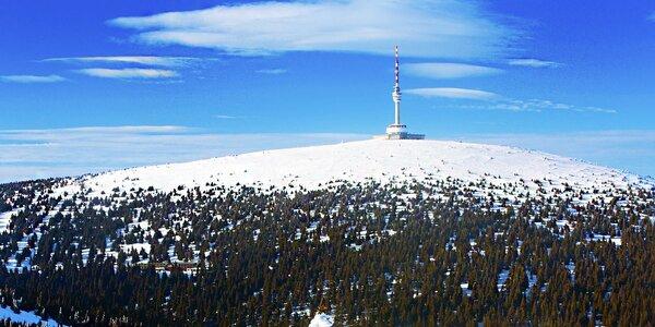 Wellness a lyžování pro dva v Jeseníkách