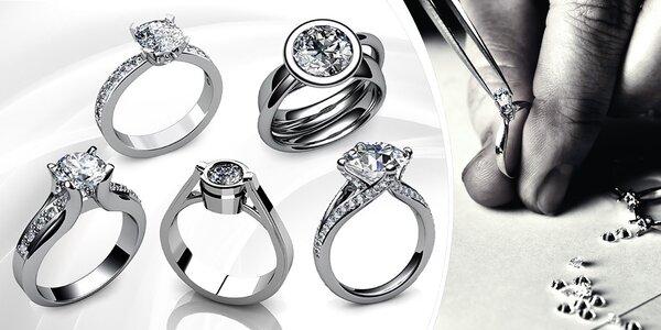 Zakázková výroba diamantových prstenů Ellissi