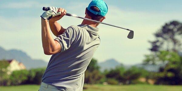 Voucher na 3 hodiny tréninku s trenérem golfu