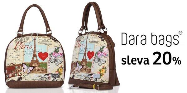 20% sleva na kabelky a doplňky Dara bags