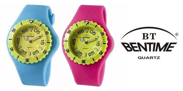 Silikonové hodinky Bentime
