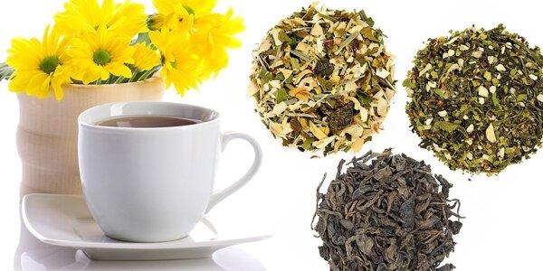 Balení sypaných čajů pro vaše zdraví
