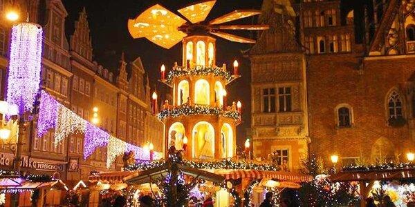 Polská Wroclaw v čase adventu