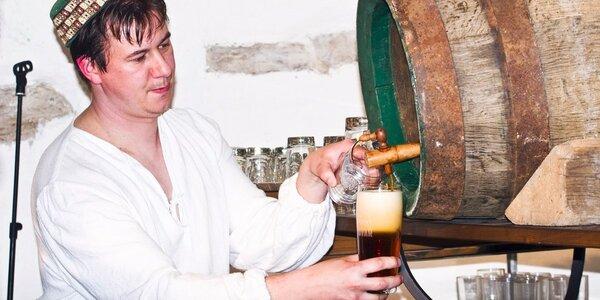 Piva z Kynšperského pivovaru a bramboráčky