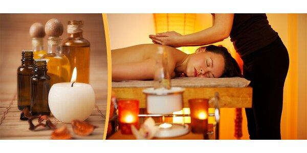 Klasická masáž zad a šíje v kombinaci s jemnou Breussovou masáží