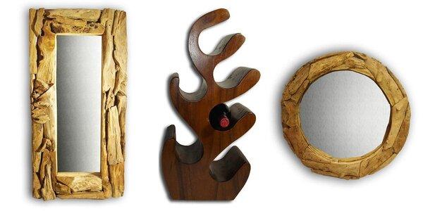 Stylový masivní nábytek z exotického dřeva