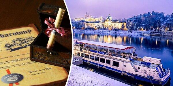 Romantická plavba po Vltavě pro dva