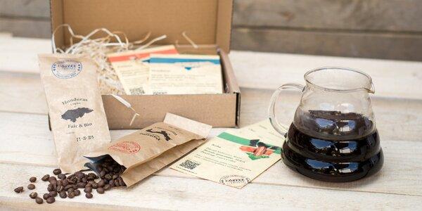 Degustační balíček výběrové kávy