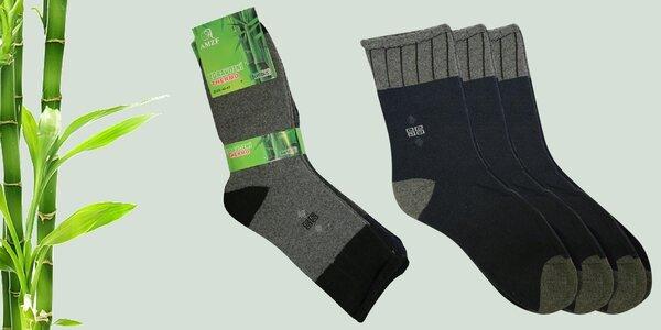 5 párů zdravotních thermo ponožek