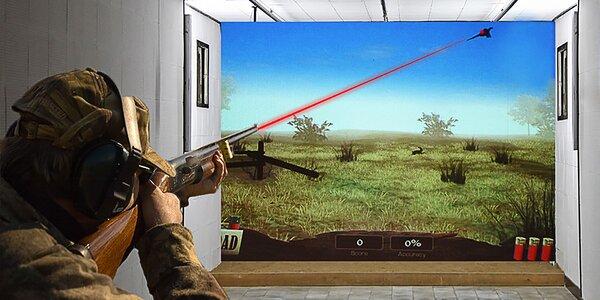 Vyrazte na laserovou střelnici