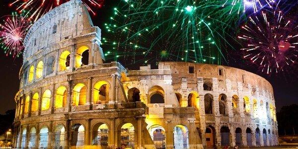 Silvestrovské oslavy v romantickém Římě