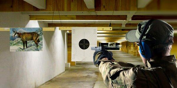 Střelecký balíček ve vyhlášené střelnici Guncenter