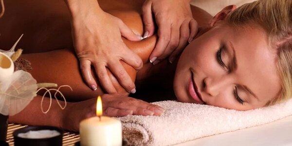 60minutová Harmony Candle massage