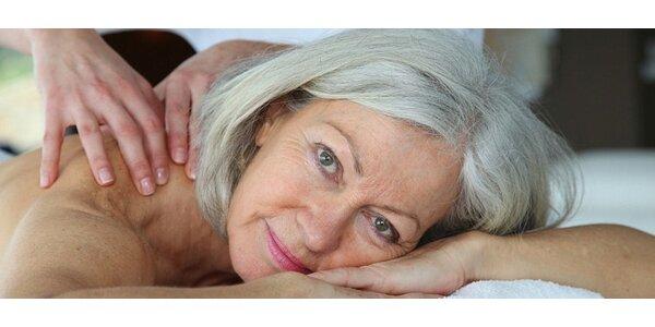 30minutové masáže pro seniory