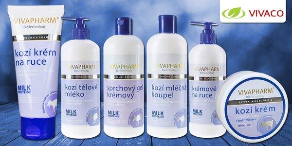 Přírodní kosmetika s kozím mlékem - Vivaco