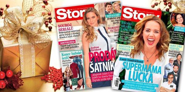 Předplatné oblíbeného časopisu Story