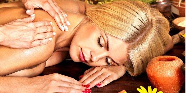 Havajská masáž lomi lomi v délce až 70 minut