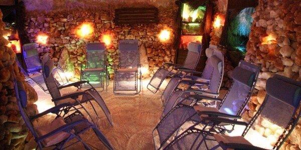 Solná jeskyně v Alžbětiných Lázních