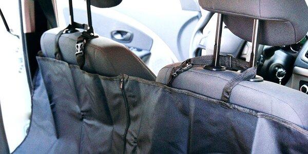 Ochranná podložka na zadní sedadla do auta