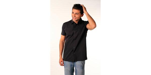 Pánská černá košile Bestebat