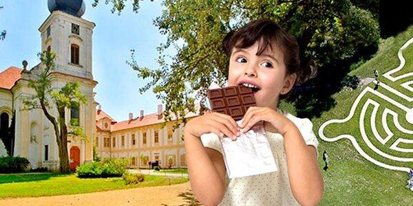 Čokoládové prohlídky na zámku Loučeň