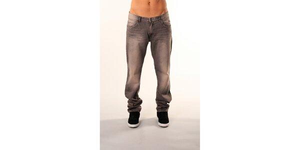 Pánské šedé džíny Bestebat