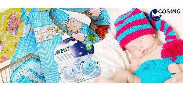Kvalitní výbavička do postýlky pro miminka