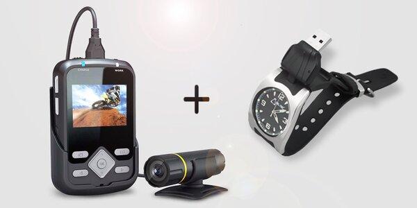 Sportovní Full HD kamera a hodinky CEL-TEC