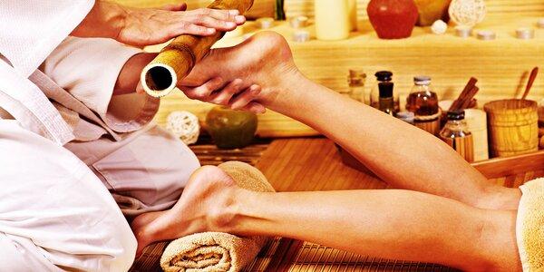 Léčebná thajská masáž chodidel