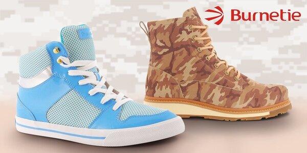 Super boty pro stylové dámy Burnetie