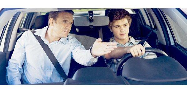 45minutová kondiční jízda v autoškole