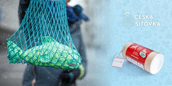 Vánoční edice síťovek v dárkovém balení