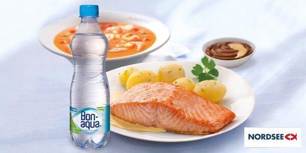 Chutné rybí menu v Nordsee