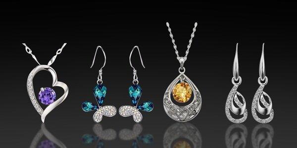 Něžné šperky s krystaly Swarovski Elements