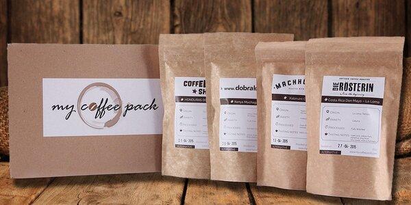 MyCoffeePack – káva z nejlepších pražíren