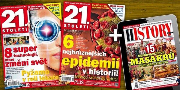 Předplatné časopisu 21. Století + bonus
