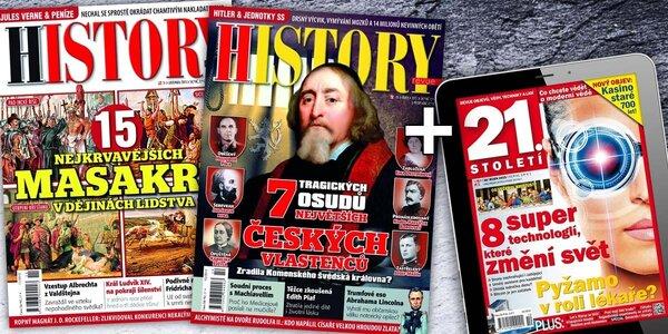 Předplatné časopisu History revue + bonus